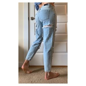 NWT Fashion Nova boyfriend jeans (size 9 or 29)